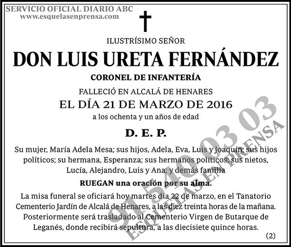 Luis Ureta Fernández